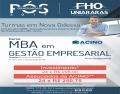 Inscrições abertas para o curso de pós-graduação MBA em Gestão Empresarial na ACINO